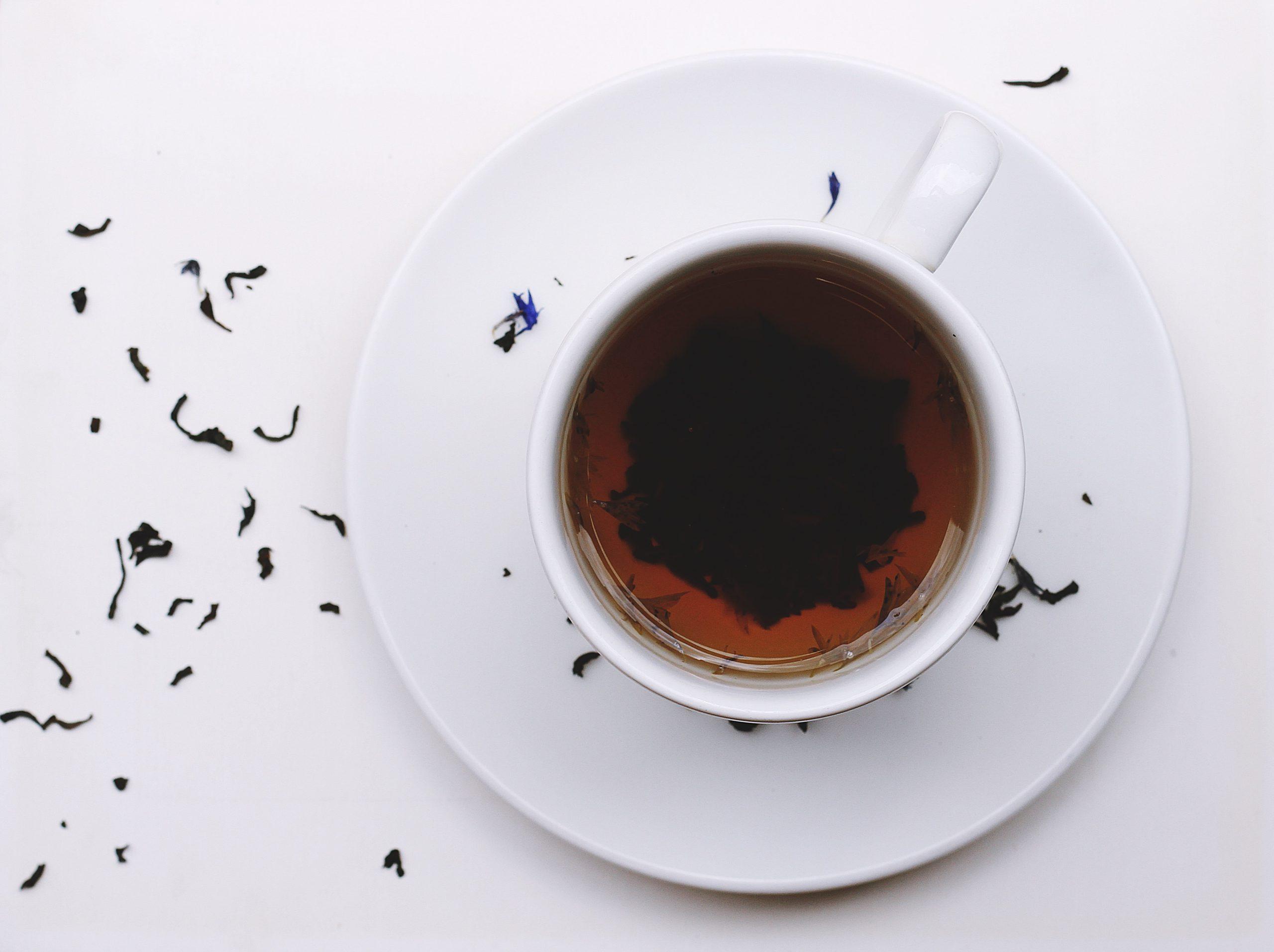 A photo of tea.